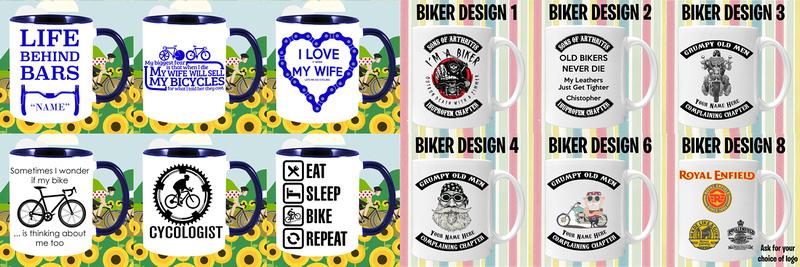 01 Cycling Motor bike mugs